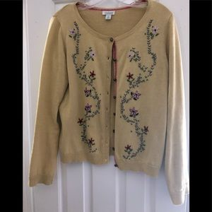 Beautiful embroidered cardigan